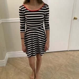 Express stripe dress